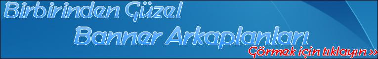 Banner arkaplan
